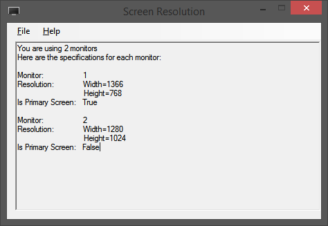 Screen Resolution preview image